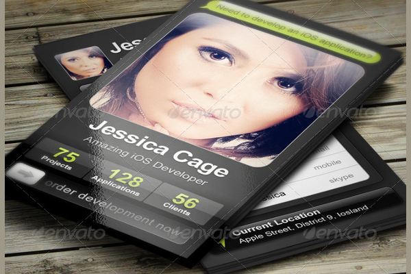 Creative Application Business Card