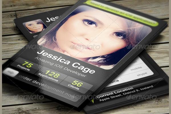 Creative Application Business Card
