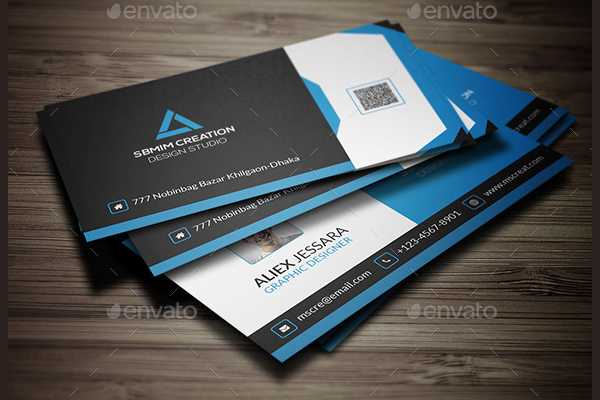 Creative Business Card Photoshop