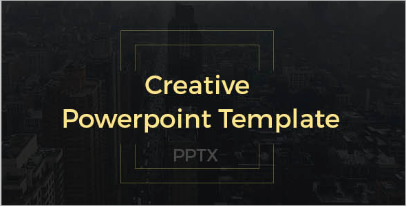 Creative City View Presentation