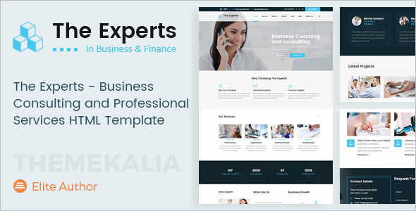 Creative Consultancy Business Website Template