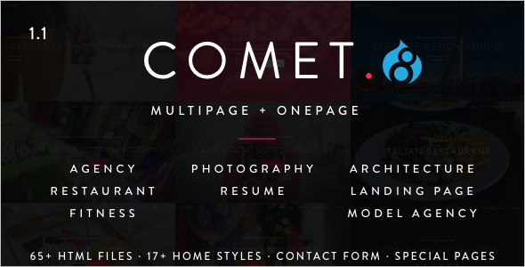 Creative Multi-Purpose Drupal 8 Theme