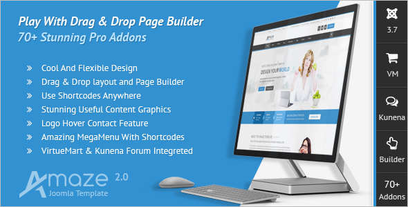 Creative Multi-Purpose Joomla Template