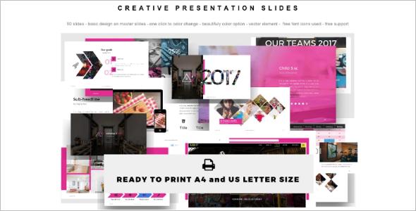 Creative Presentation Template