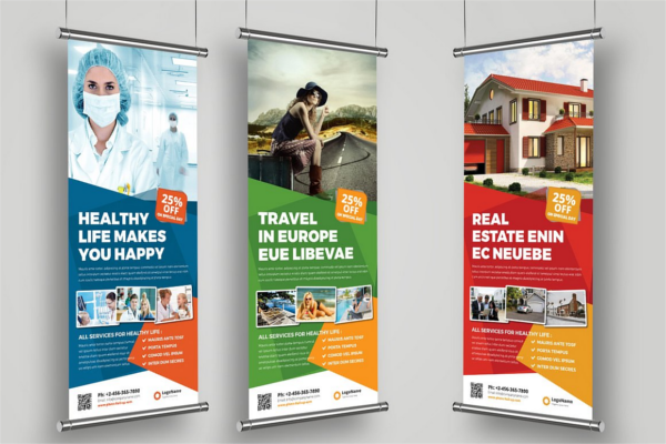Creative Roll-Up Banner Ideas
