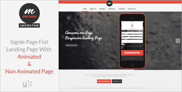 Creative Startup Landing Page Template