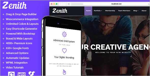 Creative Startup Website Template
