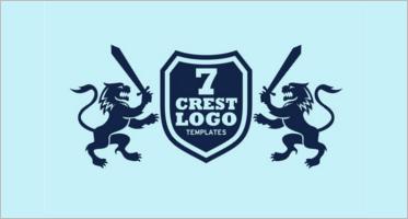 Crest Logos Design Templates