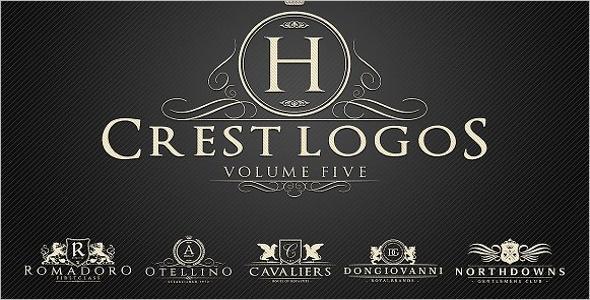 Crest Logos Heraldic Design