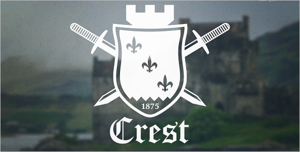 Crest Shield Badges Logos Template