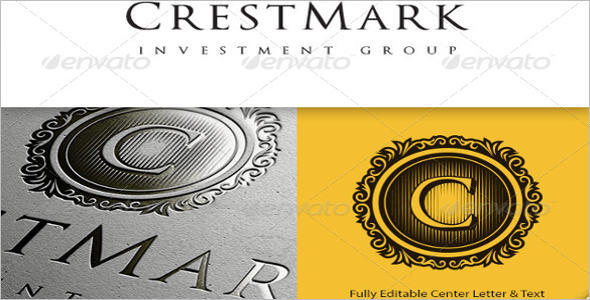 CrestMark Logo Template