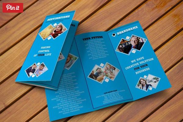 Custom Brochure Template PSD