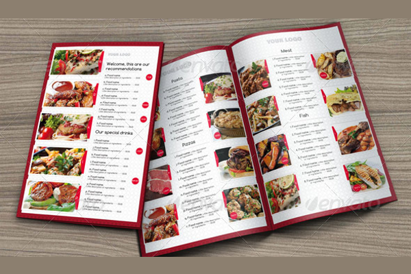Customizable Gourmet Pizza Psd