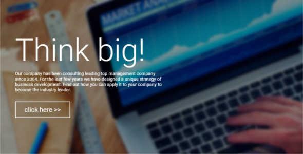 Customize Consultant Website Template