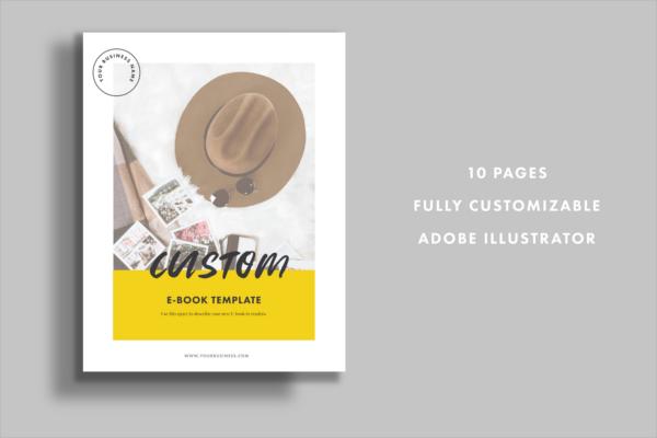 Customize E-Book Design
