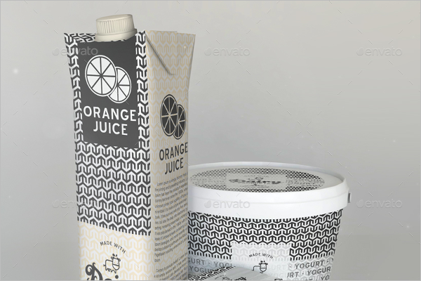 Dairy Products Mock Up