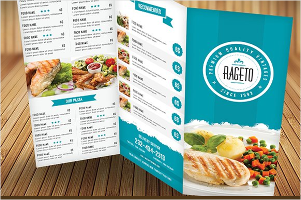 Delicious Chicken Menu Template