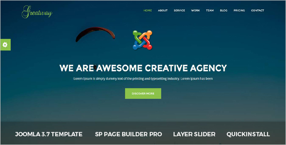 Design Agency Joomla Theme