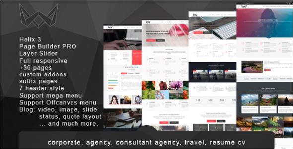 Design Custom Joomla Template