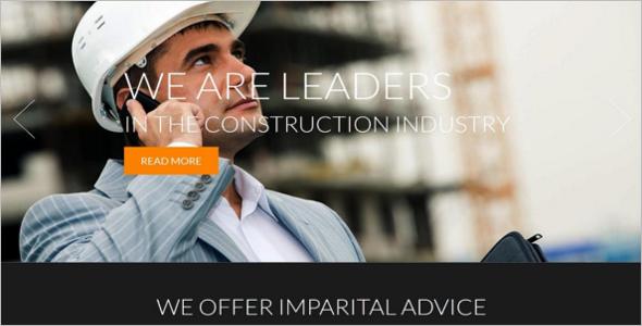 Desired Construction Business Joomla
