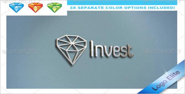 Diamond Symbol Logo Template