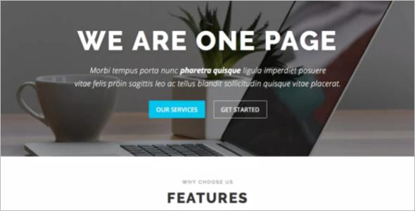 Digital WordPress Template