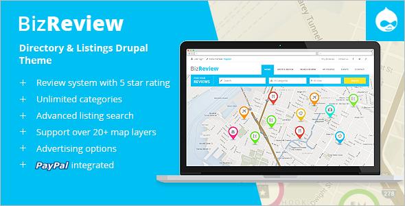 Directory Listing Drupal Theme