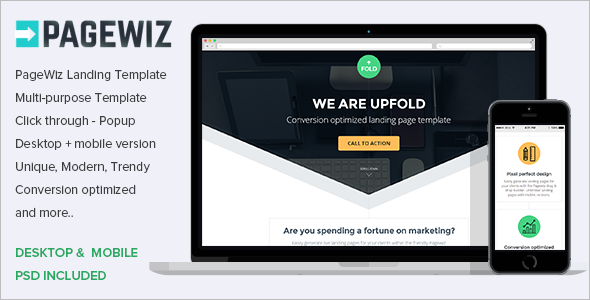 Download Pagewiz Responsive Template