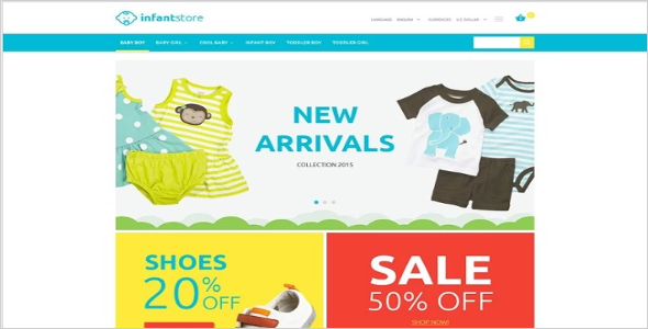 Downloadable Kids Oscommerce Templates