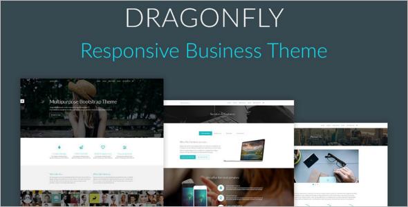 Drangonfly Freelancer Template Design