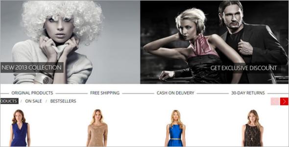 Dress code osCommerce Theme