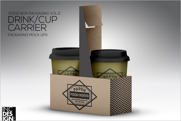 Drink Cup product Mockup