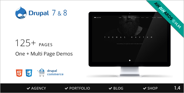 Drupal 7 & 8 Multipurpose Commerce theme
