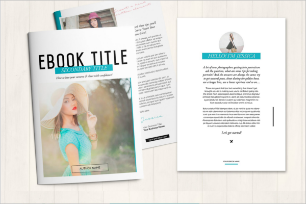 E-Book Blogger Design
