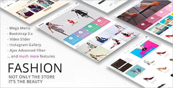 E-Commerce Fashion Store Theme