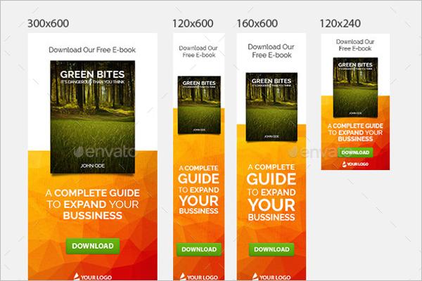 E-book Banner Ads Design