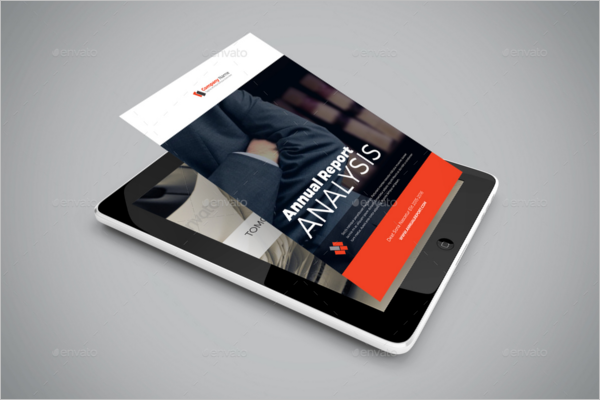 E-book Report Design