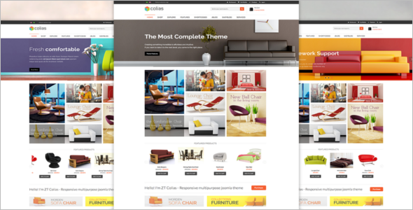 E-commerce Slider Template
