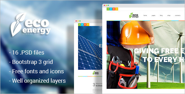 Ecology Energy Technology Website