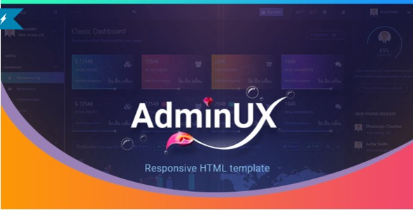 Editable Bootstrap Admin Template