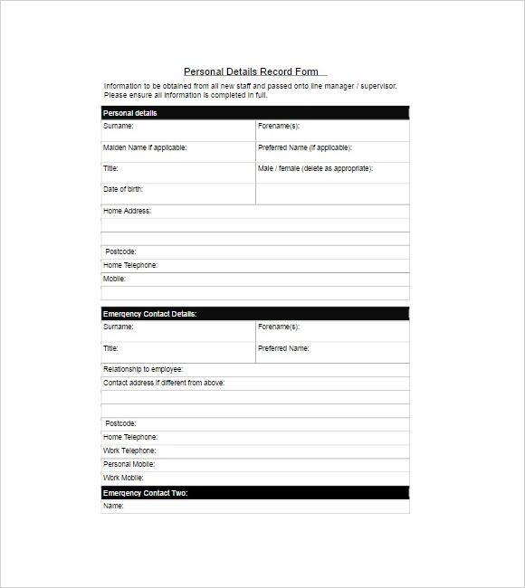 Editable Contact Form