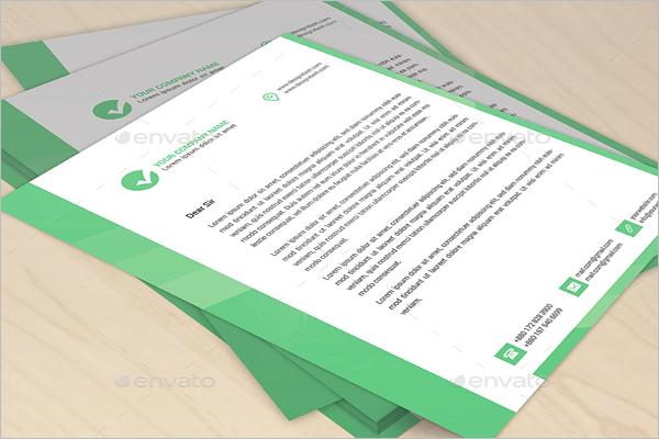 Editable Letterhead Ready Print