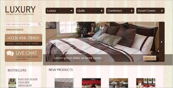 Editable OsCommerce Template
