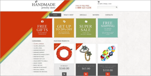 Editable Oscommerce Templates