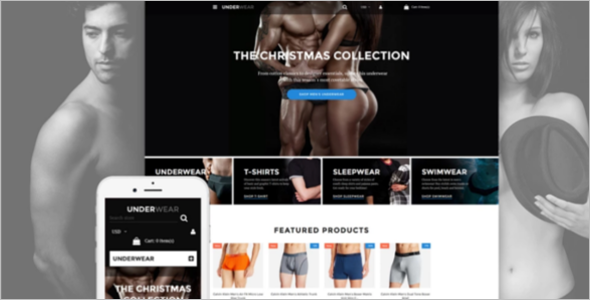 Effective Men's Underwear Shopify Template