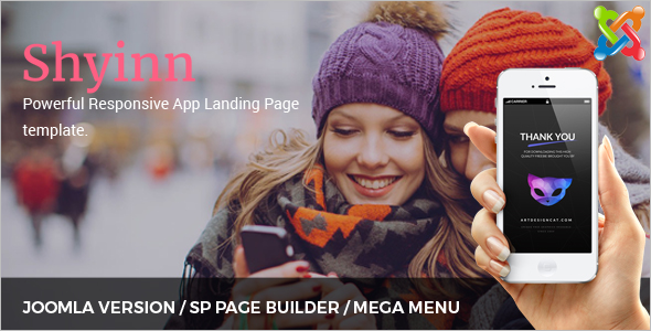 ElegantApp Landing Joomla Theme