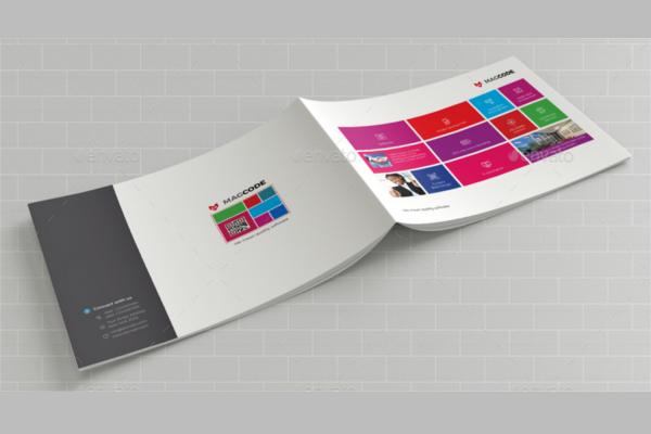 Elegant Brochure Landscape Outlook