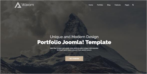 Elegant Business Joomla Template