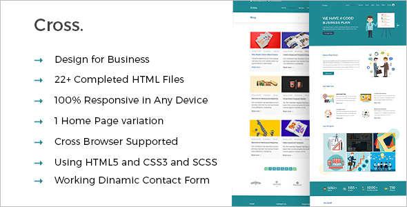 Elegant Consultancy Business Website Template