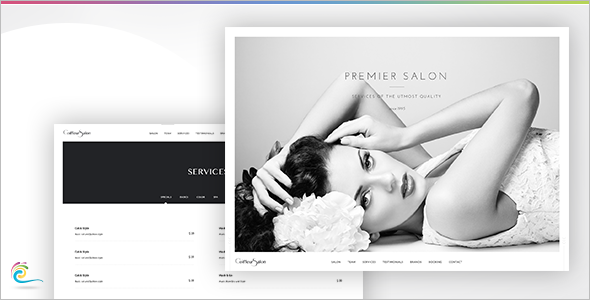 Elegant Full Screen Video Website Template